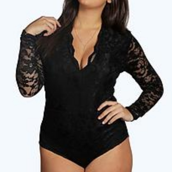 Tall Lucy Lace Long Sleeved Body f1f079d21
